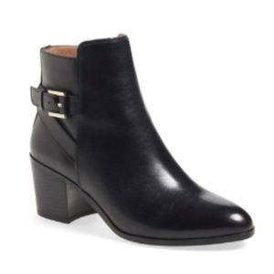 Louise et Cie 'Zalia' Ankle Bootie Black Leather